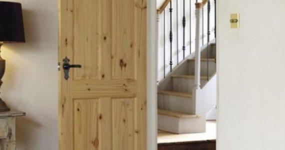 knotty pine internal door