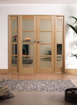 oak room dividers interior doors