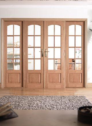 hardwood room dividers interior doors