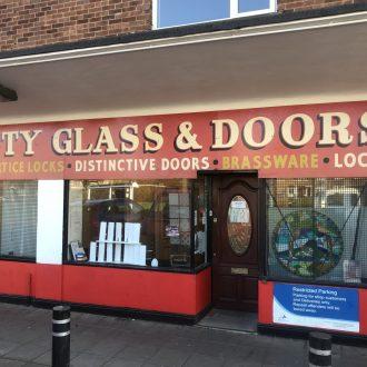City Glass & Doors shopfront